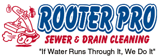 Rooter Pro Sewer & Drain Cleaning Logo
